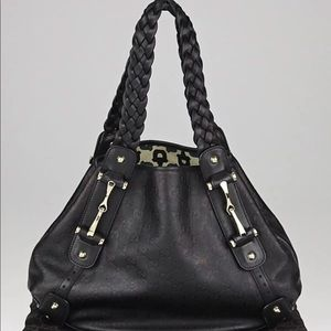 Authentic Guccissima Black Leather Gucci